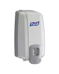 Nxt Instant Hand Sanitizer Dispenser, 1000ml, 5 1/8w X 4d X 10h, We/gray