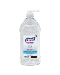 Advanced Instant Hand Sanitizer, 2-Liter Bottle, 4 Per Carton