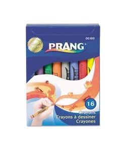 Prang® Crayons Made With Soy, 16 Colors/Box