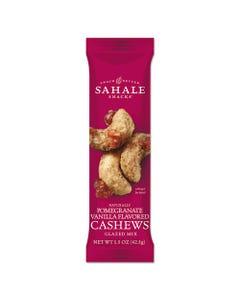 Sahale Snacks® Glazed Mixes, Cashew Pom Vanilla, 1.5 Oz, 18/Carton