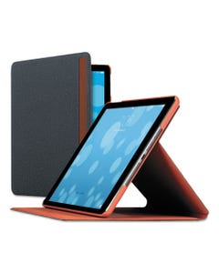 Solo Austin Ipad Air Case, Polyester, Gray/Orange