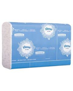 Kleenex® Reveal Multi-Fold Towels, 2-Ply, 8 X 9.4, White, 16/Carton