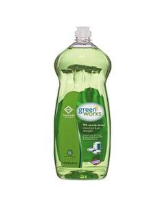 Green Works® Manual Pot And Pan Dishwashing Liquid, 38 Oz Bottle