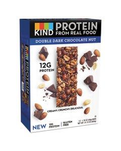 KIND Protein Bars, Double Dark Chocolate, 1.76 Oz, 12/Pack