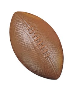 Champion Sports Coated Foam Sport Ball, For Football, Playground Size, Brown