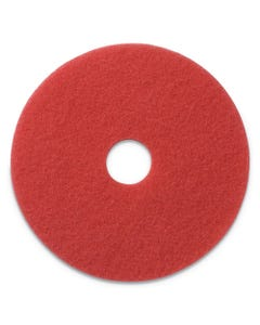 """PRESERVATION Brand 13"""" Red Buffing Floor Pad, 5/CS"""