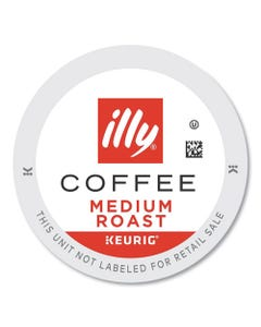 illy® Coffee K-Cup Pods, Medium Roast, 20/Box