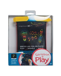 "Boogie Board™ Scribble N' Play, 5"" X 7"" Screen, Black/Red/Yellow"