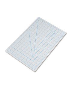 "X-ACTO® Self-Healing Cutting Mat, Nonslip Bottom, 1"" Grid, 12 X 18, Gray"