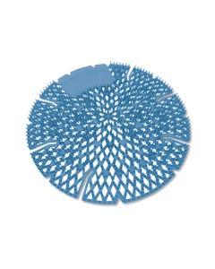 Big D Industries Diamond 3D Urinal Screen, Mountain Air, Blue, 10/Pack, 6 Pack/Carton