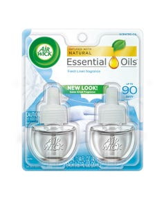 Air Wick® Scented Oil Refill, Fresh Linen, 0.67 Oz, 2/Pack