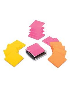 "Post-it® Pop-up Notes Super Sticky Pop-Up Dispenser Value Pack, 3"" X 3"", 12/Pack"