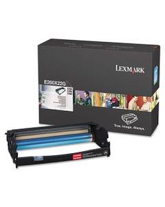 Lexmark™ E260X22G Photoconductor Unit, 30000 Page-Yield, Black