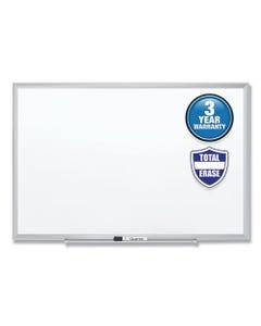 Quartet® Classic Series Total Erase Dry Erase Board, 48 X 36, Silver Aluminum Frame