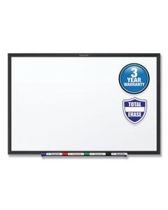 Quartet® Classic Series Total Erase Dry Erase Board, 96 X 48, White Surface, Black Frame