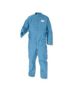 KleenGuard™ A20 Breathable Particle-Pro Coveralls, Zip, 4X-Large, Blue, 24/Carton