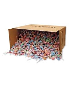 Spangler® Dum-Dum-Pops, Assorted Flavors, Individually Wrapped, Bulk 30 Lb Carton