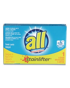 All® Ultra He Coin-Vending Powder Laundry Detergent, 1 Load, 100/Carton