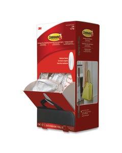 Command™ General Purpose Designer Hooks, Medium, 3 Lb Cap, White, 50 Hooks And Strips/Pack
