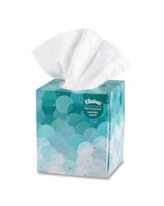 Kleenex® Boutique White Facial Tissue, 2-Ply, Pop-Up Box, 95 Sheets/Box, 36 Boxes/Carton