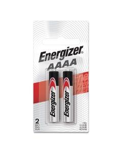 Energizer® Max Alkaline Aaaa Batteries, 1.5V, 2/Pack