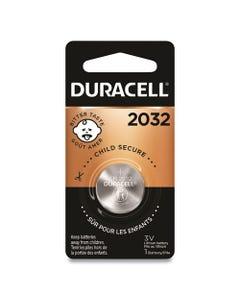 Duracell® Lithium Coin Battery, 2032, 6/Box