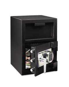 Sentry® Safe Digital Depository Safe, Extra Large, 1.3 Cu Ft, 14W X 15.6D X 24H, Black