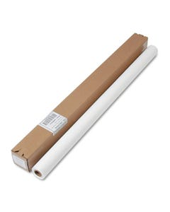 """Tablemate® Table Set Plastic Banquet Roll, Table Cover, 40"""" X 100Ft, White"""