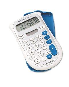Texas Instruments Ti-1706Sv Handheld Pocket Calculator, 8-Digit Lcd