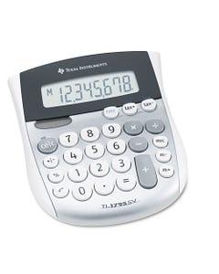 Texas Instruments Ti-1795Sv Minidesk Calculator, 8-Digit Lcd