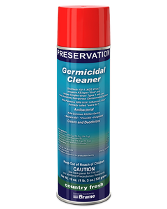 PRESERVATION Brand Germicidal Aerosol Cleaner, Country Fresh Scent, 12/CS