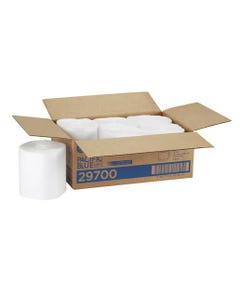 Pacific Blue Select# Disposable Surface System Refill By GP PRO (Georgia-Pacific), White, 6 Centerpull Rolls Per Case