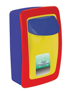 PRESERVATION Brand Designer Series Foam Wall Sanitizer Dispenser, Low-Output, Multi-Colored, Manual, For 1000mL Refill Bags