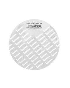 PRESERVATION Brand Anti-Splash Urinal Screen, Sunburst, 10/BX 6BX/CS