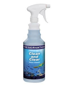 PRESERVATION Brand Clean and Clear Non Ammoniated Glass and Surface Cleaner, RTU 12QT/CS