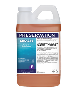 PRESERVATION Brand CDQ-256 Disinfectant, 2L 4/CS