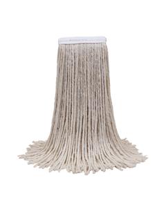 PRESERVATION Brand Cotton Cut-End Mop Head, 16OZ