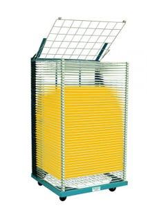 "Portable Drying Rack, 50 Shelves, 26""x36"""