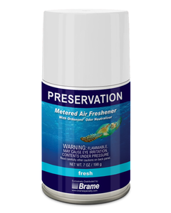 PRESERVATION Brand Metered Aerosol, Fresh Scent, 7OZ, 12/CS