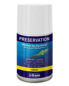 PRESERVATION Brand Metered Aerosol Deodorant, Citrus, 7OZ, 12/CS