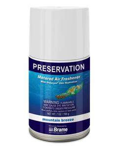 PRESERVATION Brand Metered Aerosol Deodorant, Mountain Breeze, 7OZ, 12/CS