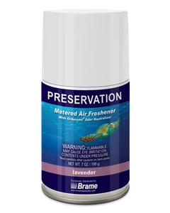 PRESERVATION Brand Metered Aerosol Deodorant, Lavender, 7OZ, 12/CS