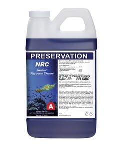 PRESERVATION Brand NRC Neutral Restroom Cleaner, Hospital Grade Disinfectant, 2L 4/CS