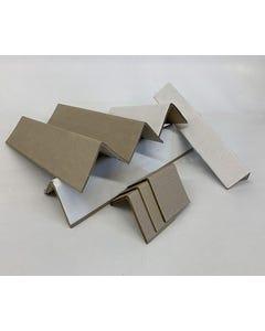 """White Angled Cornerboard, 2""""x2""""x43.25"""", 3000/SK"""
