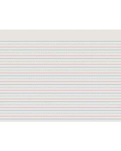 """D'Nealian Ruled Writing Paper, 8.5""""x10"""", 1/2"""" Ruled"""