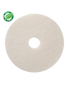 "PRESERVATION Brand White Super Polish Floor Pad, 20"", 5/CS"